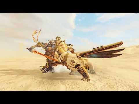 Durthu VS Necrosphinx Of Usekph  - Tomb Kings - Total War: Warhammer 2