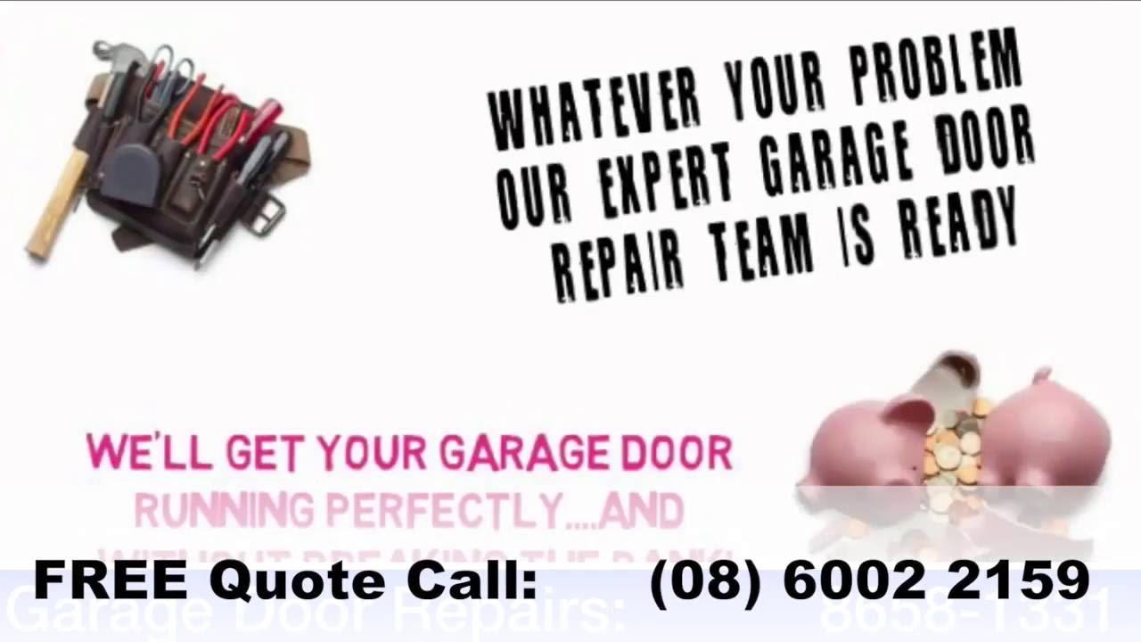 Garage Door Repairs Perth Perth Wa Youtube