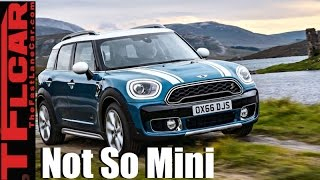 All New 2017 Mini Countryman: Not so Mini MINI is Born with AWD on All Models