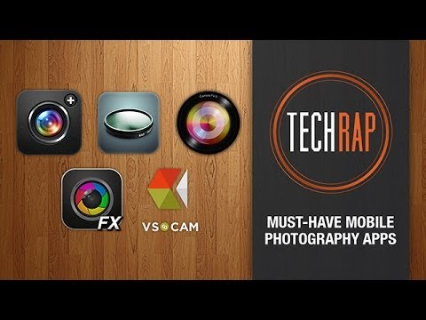 Best smartphone photography apps (TechRap)