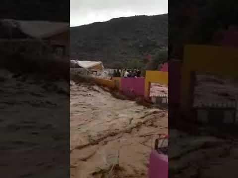 فاجعة تارودانت اكلدون ازكاغ     catastrophe innondation fleuve maroc
