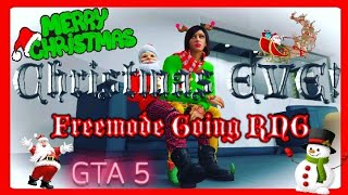 "Gambar cover GTA 5 Online - CHRISTMAS🦌 EVE🌲Run And Gun ""Tdm"" Deathmatch And Freemode"