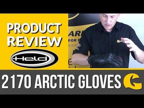 Held Gloves: Held 2170 Gore-Tex Arctic Winter Gloves: 2 minute review #GearGuru