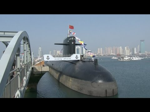 China's Decommissioned Nuclear Submarine Exhibited to Public