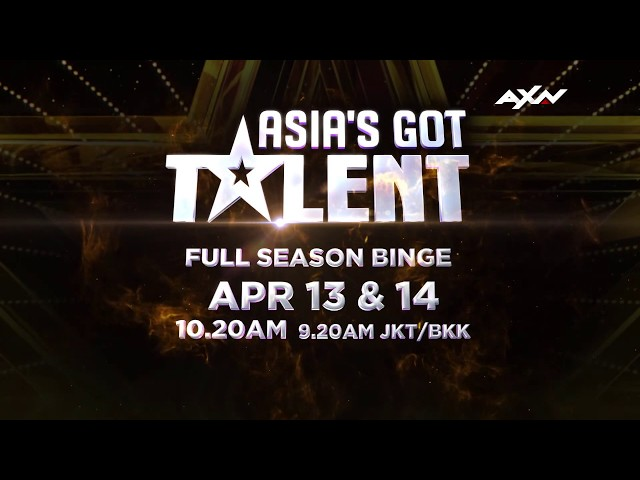 Catch All The Episodes Of Asia's Got Talent This Weekend! | Asia's Got Talent 2019 on AXN Asia