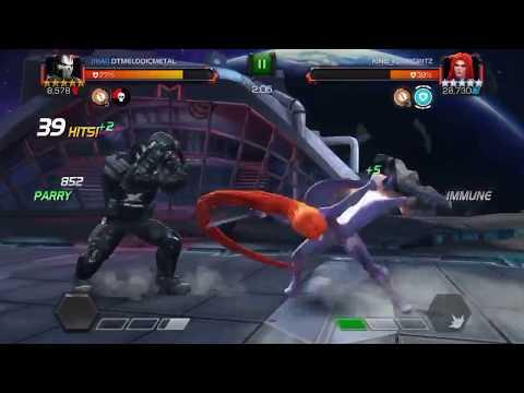 Alliance War Tier 3 Five Star Medusa Debuff Immune Miniboss Solo