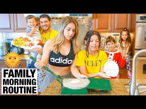 FAMILIA DIAMOND'S MORNING ROUTINE!!!