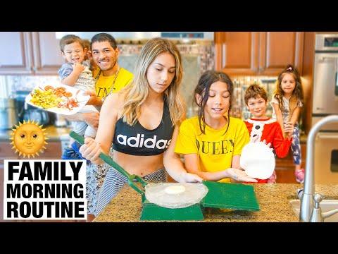 FAMILIA DIAMOND'S MORNING ROUTINE!!!