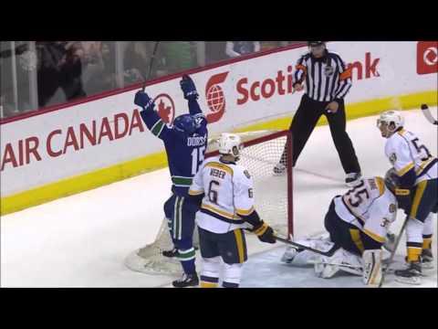 Canucks vs Predators - Highlights - 3/12/16 - HD