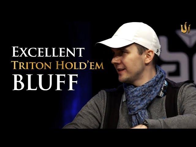 Excellent Mikita Badziakouski Bluff sees Jason Koon fold Triple Aces