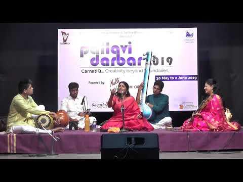 Sriranjani Santhanagopalan L Grand Pallavi Darbar Spl Concert  L Carnatica & SPS Sabha L 2019