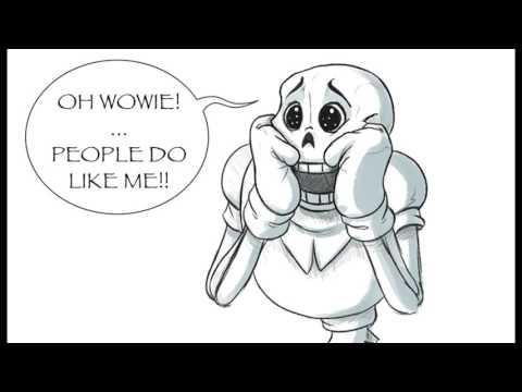 Undertale Comic Dub: Papyrus's New Fan