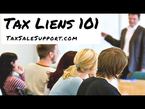 how to search for tax liens