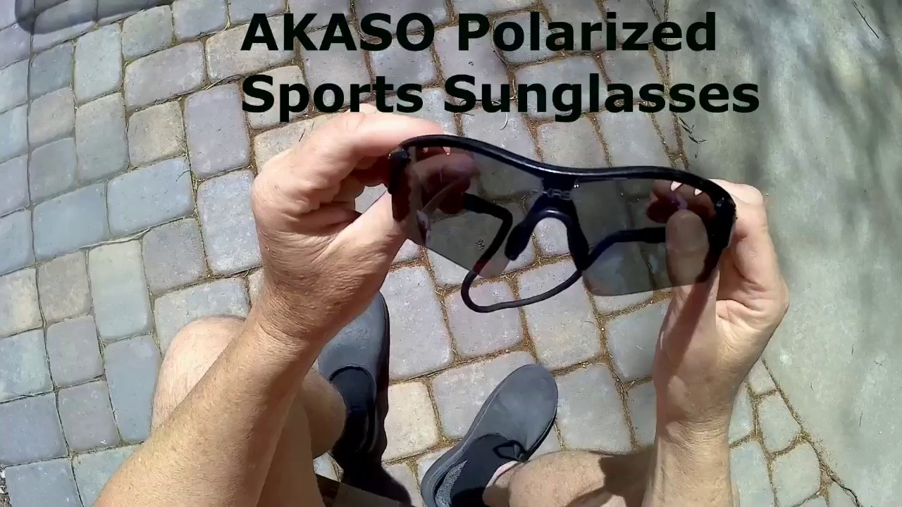 720650765da how to change lenses for akaso sunglasses - YouTube