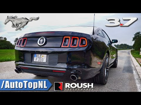 FORD MUSTANG 3.7 V6 ROUSH EXHAUST | LOUD! SOUND By AutoTopNL