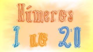 Números do 1 ao 20 para crianças - Ep. 29