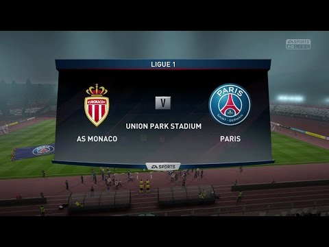 FIFA 17 GAMEPLAY FULL MATCH  MONACO VS PSG IN 1080P HD 60FPS (PS4/XBOX ONE)