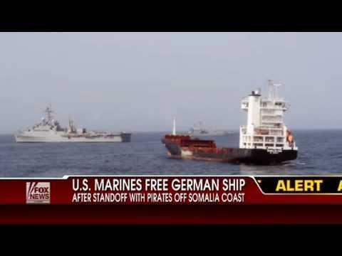 Marines Rescue Hijacked Ship From Somalia Pirates Control