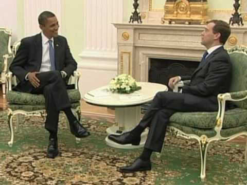 Obama, Medvedev To Sign New Arms Pact