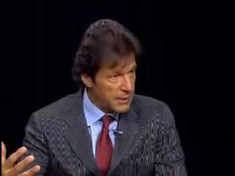 iMRAN KHAN WITH CHARLIE ROSE 1/3