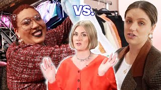 Best Friend Vs. Professional Stylist: New Year's Eve Look Challenge
