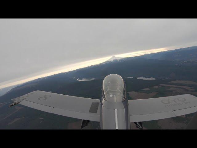 Flying my RV-8 to Mount Hood Oregon