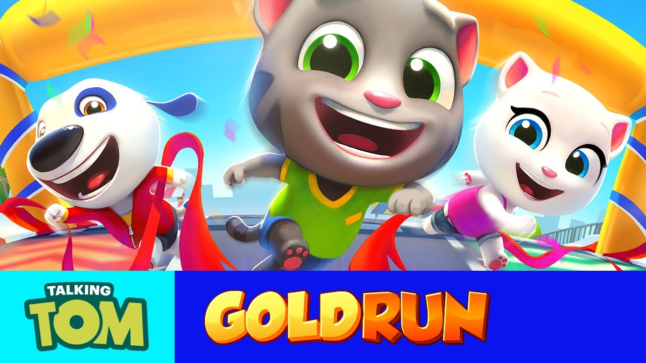 NEW In Talking Tom Gold Run
