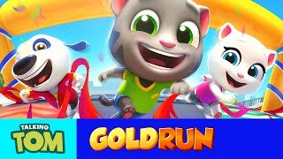 NEW in Talking Tom Gold Run - Win the Race!