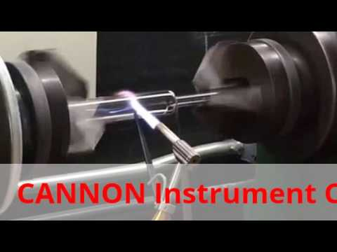 CANNON® Glass Blowers Create Viscometer Tube