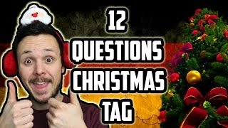 12 Questions of Christmas Tag - Get Germanized