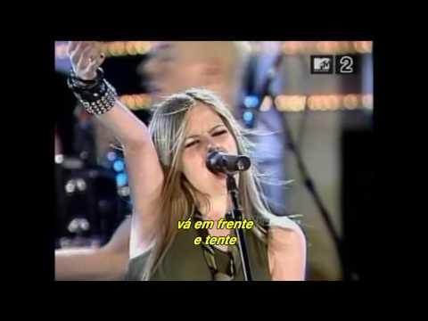 Avril Lavigne - Nobody's Fool (Live Rock N Roll Hall Fame 2002) (Legendado)