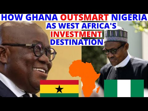 How Ghana Became Africa's Top Investment Destination On Foreign Direct Investment FDI Dollars.