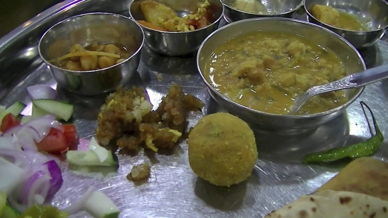 Rajasthani thali what to eat in jodhpur thali at gypsy restaurant rajasthani thali what to eat in jodhpur thali at gypsy restaurant hindi food video forumfinder Choice Image