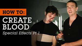 Pt. 1: كيفية إنشاء الدم المؤثرات الخاصة