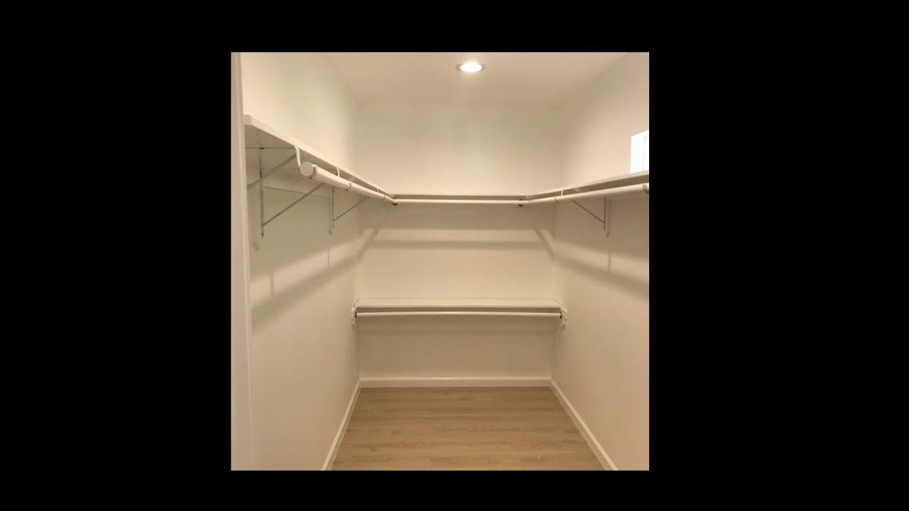 How To Build And Install Walk In Closet Shelf Pole By Nowpro You