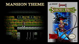 NES Music Orchestrated - Castlevania II - Mansion Theme ( Dwellings Of Doom )