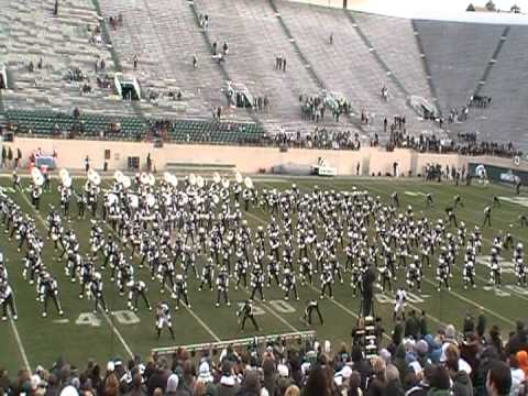 Thriller 2011 MSU Spartan Marching Band