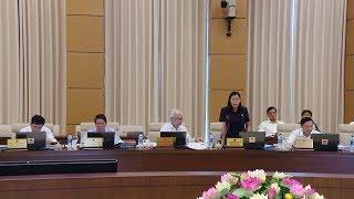 Ủy ban Thường vụ Quốc hội tiếp tục cho ý kiến về báo cáo tình hình kinh tế - xã hội