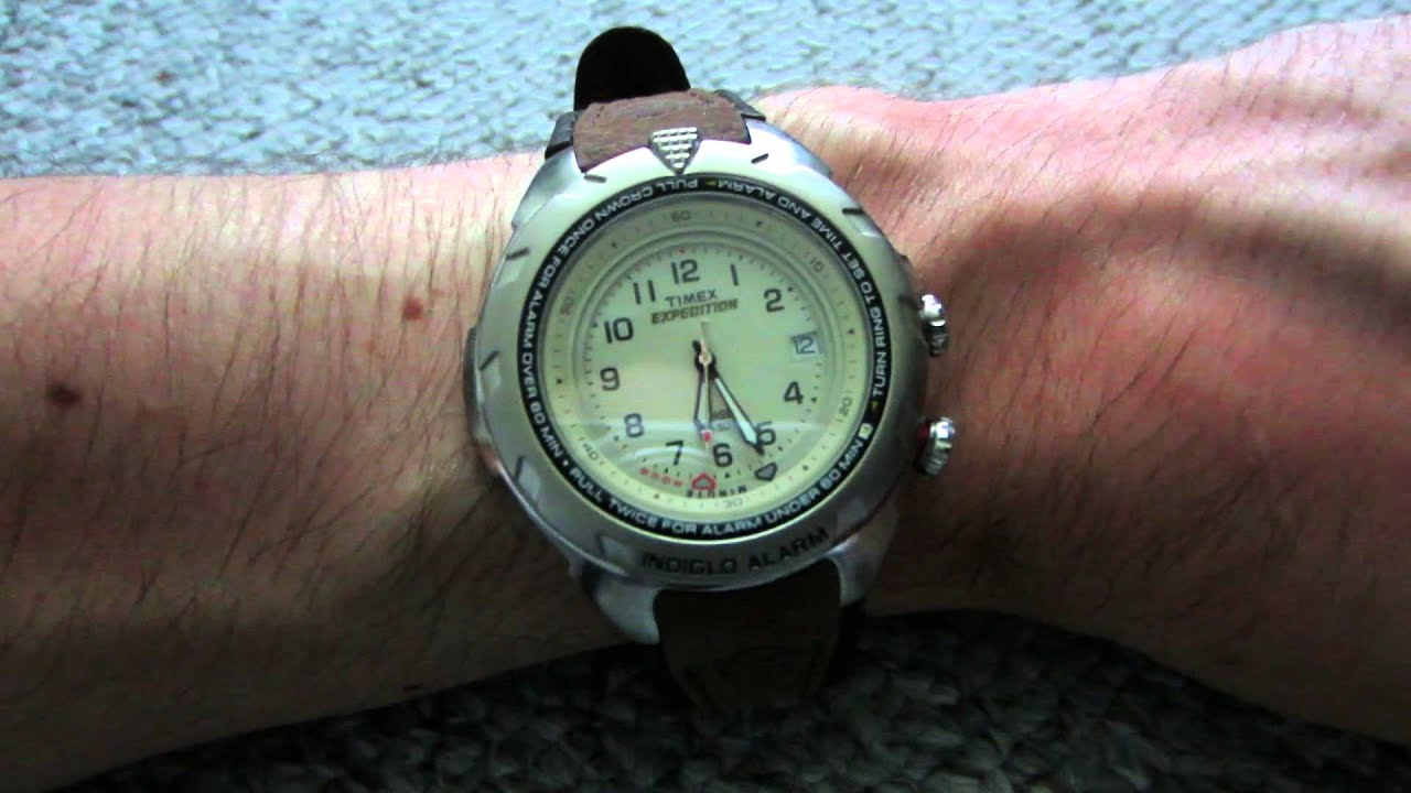 29bb627fa343 TIMEX Expedition Indiglo WR 50M (T47902) - YouTube