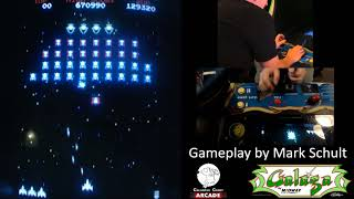 (Arcade) Galaga - 852,200 pts by Mark Schult
