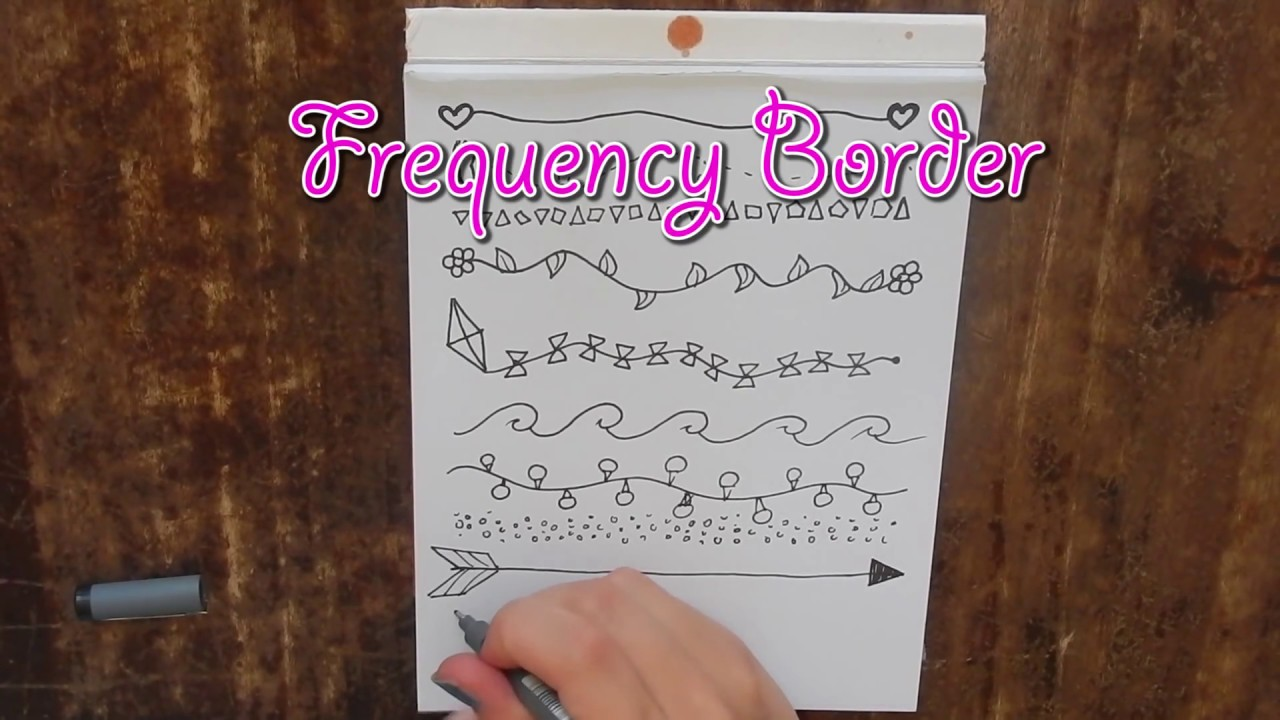 Free Easy Hand Drawn Border Designs