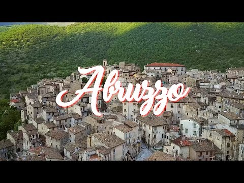 Amazing ITALY - ABRUZZO Region in the south of Italy (part 01) - Birthplace of a famous poet