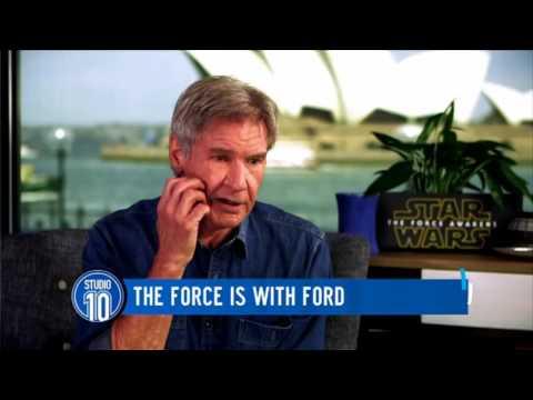 Harrison Ford on Studio 10