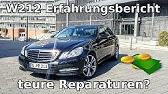 Mercedes E-Klasse W212 mit über 200TKM || Erfahrungsbericht nach 1 Jahr & Fahrbericht