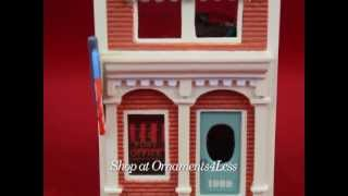 1989 Nostalgic Houses and Shops #6 - U.S. Post Office - Artist Signed - Shop at Ornaments4Less!