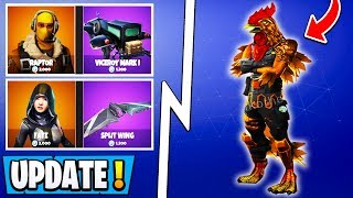 *NEW* Fortnite Update! | All Skin Release Dates, S7 Snow Sounds, Tender Defender!