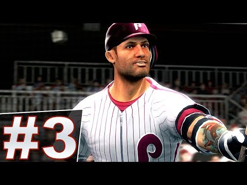 1ST MLB GAME! PHILADELPHIA PHILLIES THE BIGS 2 BECOME A LEGEND SERIES EP  3!