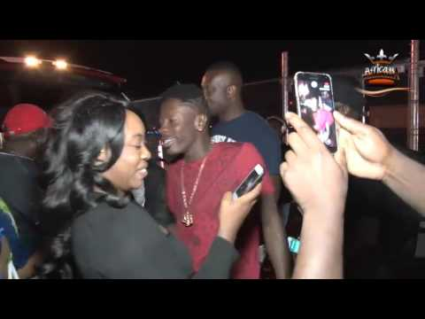 Shatta Wale arrives in Worcester for USA tour