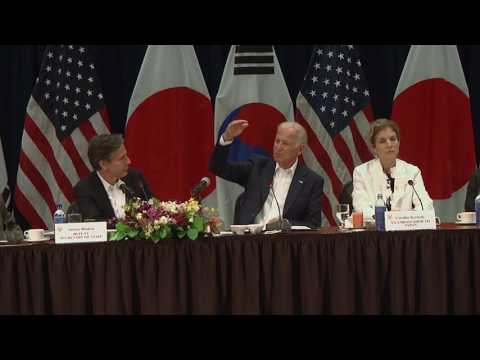 Joe Biden on U.S. policy in the Pacific.