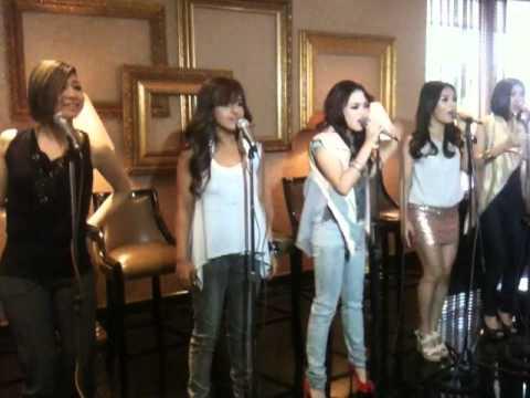 Blush - Make You Blush (Live at their Manila Media Presentation)